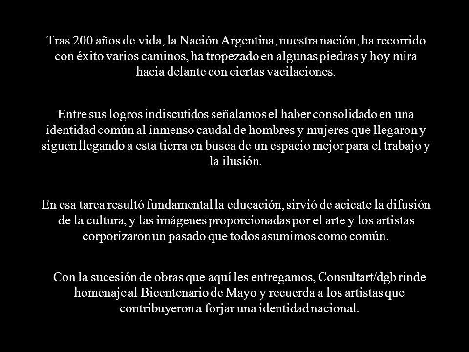 Tras 200 años de vida, la Nación Argentina, nuestra nación, ha recorrido con éxito varios caminos, ha tropezado en algunas piedras y hoy mira hacia delante con ciertas vacilaciones.