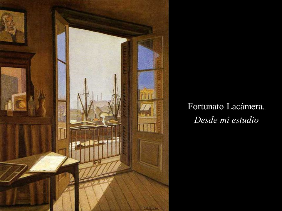 Fortunato Lacámera. Desde mi estudio