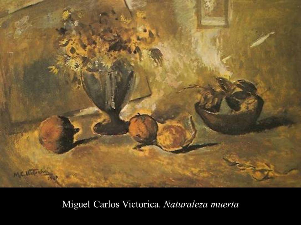 Miguel Carlos Victorica. Naturaleza muerta