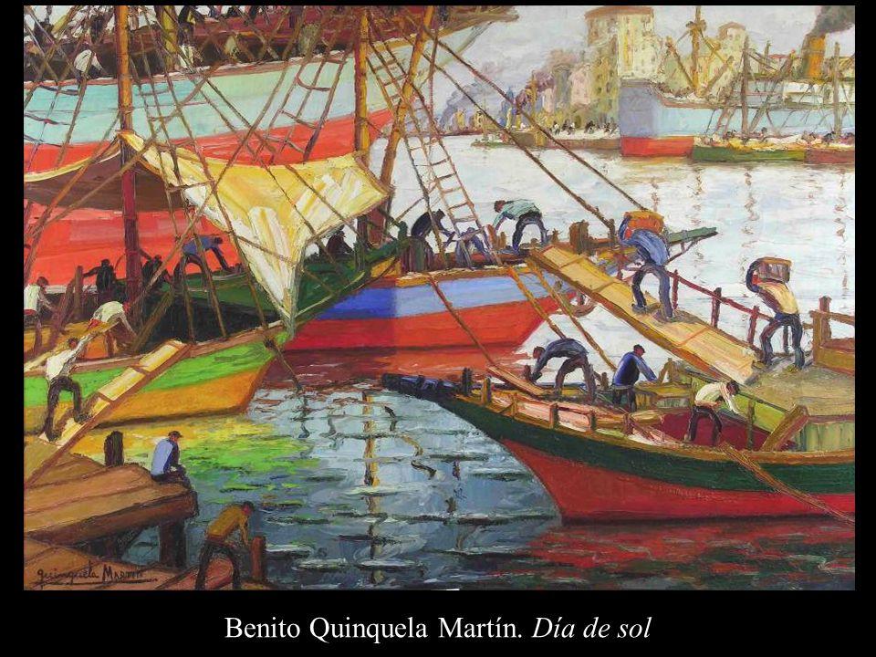 Benito Quinquela Martín. Día de sol