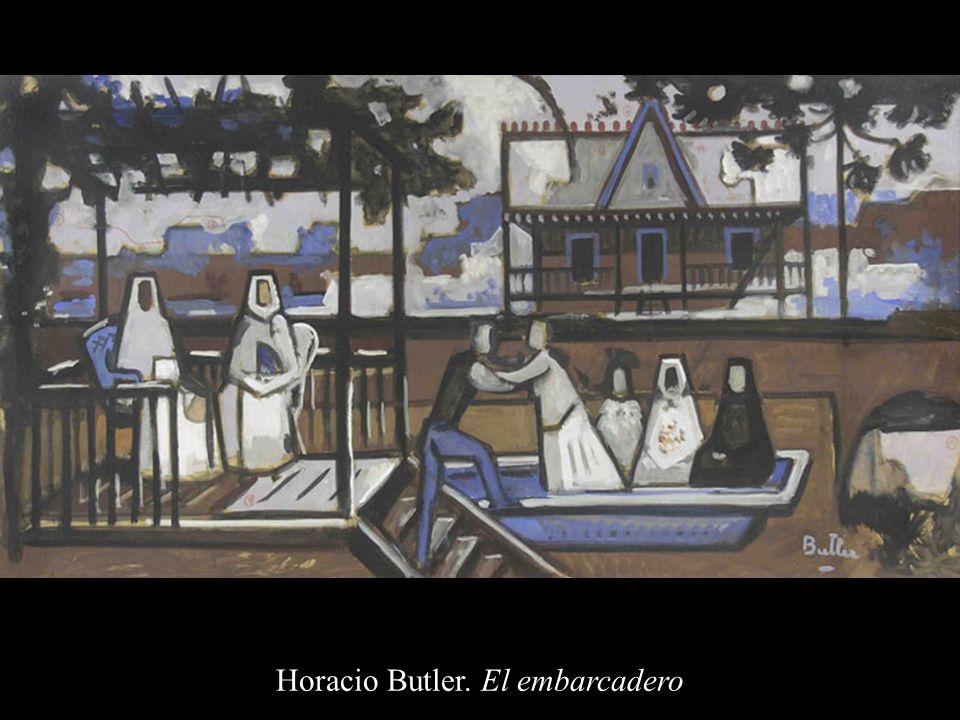 Horacio Butler. El embarcadero