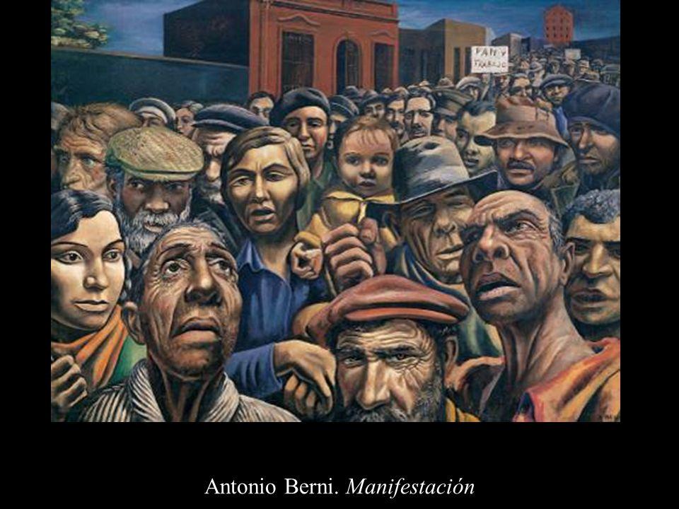 Antonio Berni. Manifestación