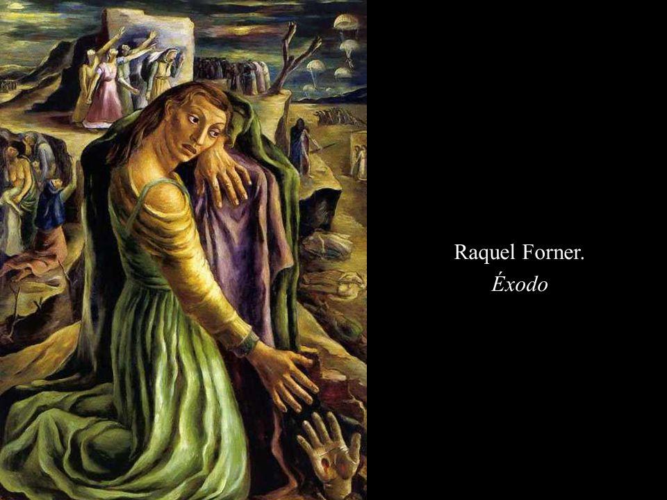 Raquel Forner. Éxodo