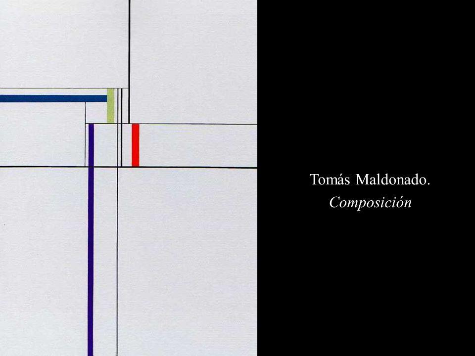 Tomás Maldonado. Composición
