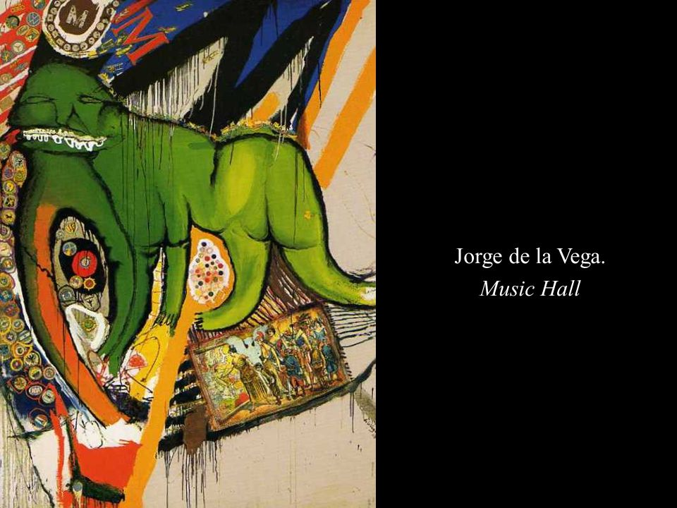 Jorge de la Vega. Music Hall