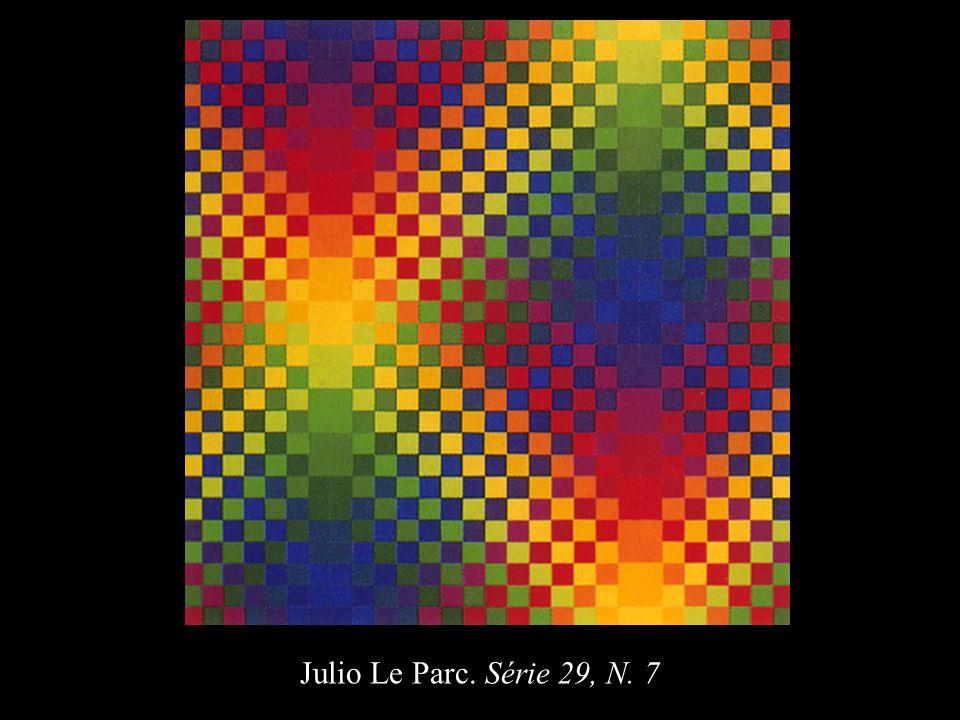 Julio Le Parc. Série 29, N. 7 40