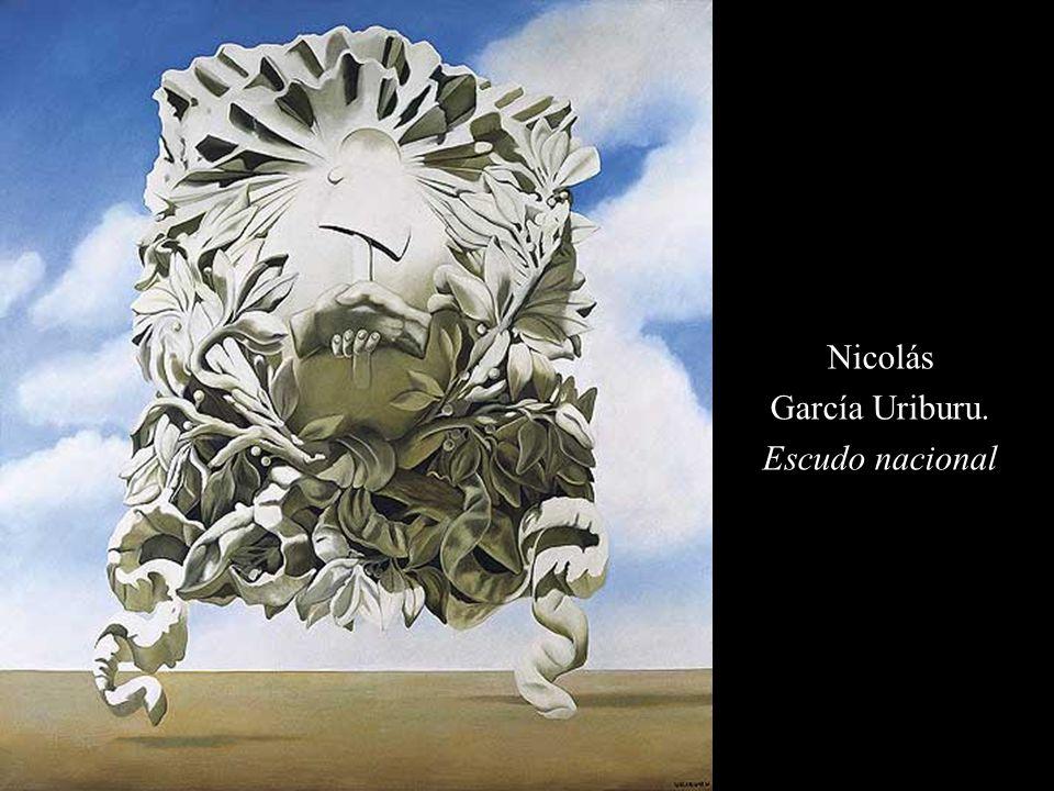Nicolás García Uriburu. Escudo nacional