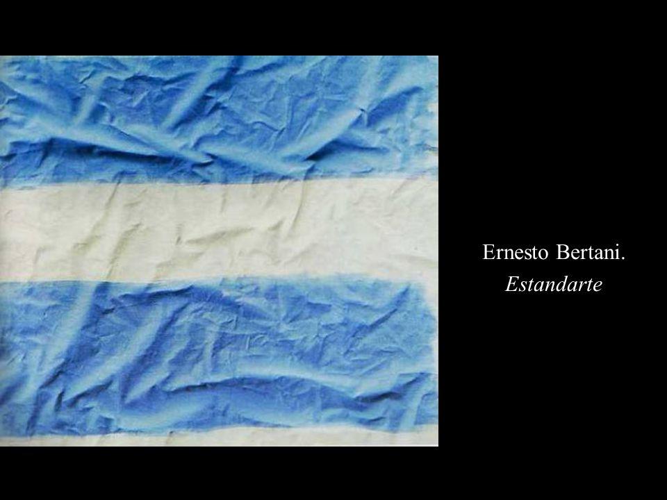 Ernesto Bertani. Estandarte
