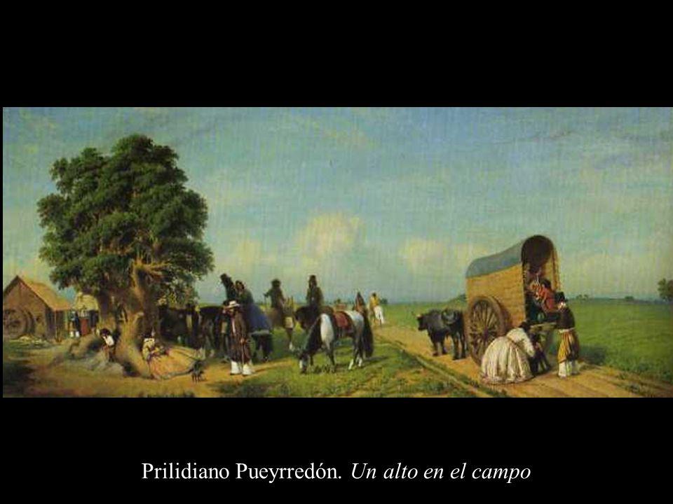 Prilidiano Pueyrredón. Un alto en el campo