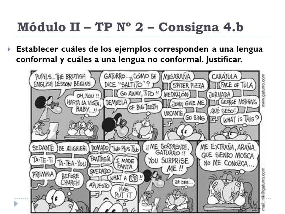 Módulo II – TP Nº 2 – Consigna 4.b