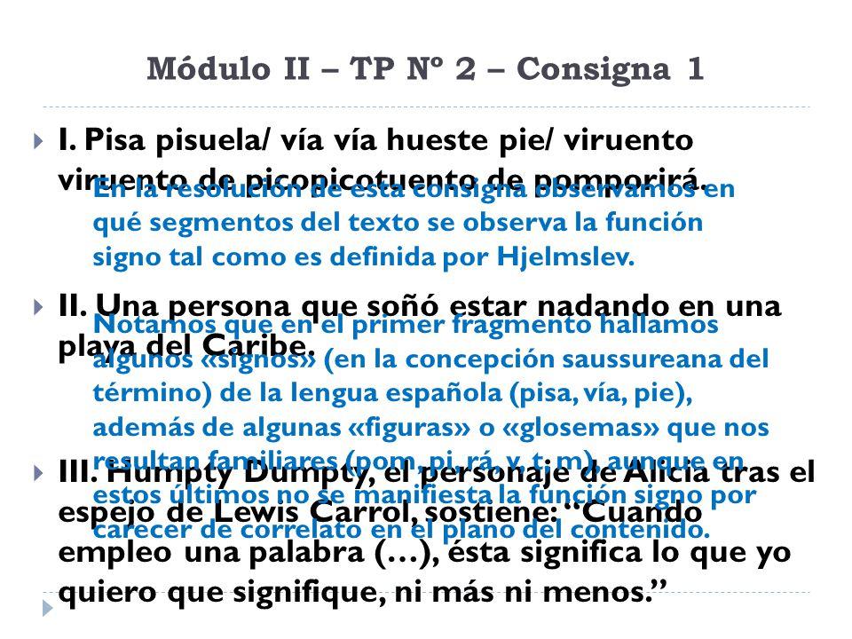 Módulo II – TP Nº 2 – Consigna 1