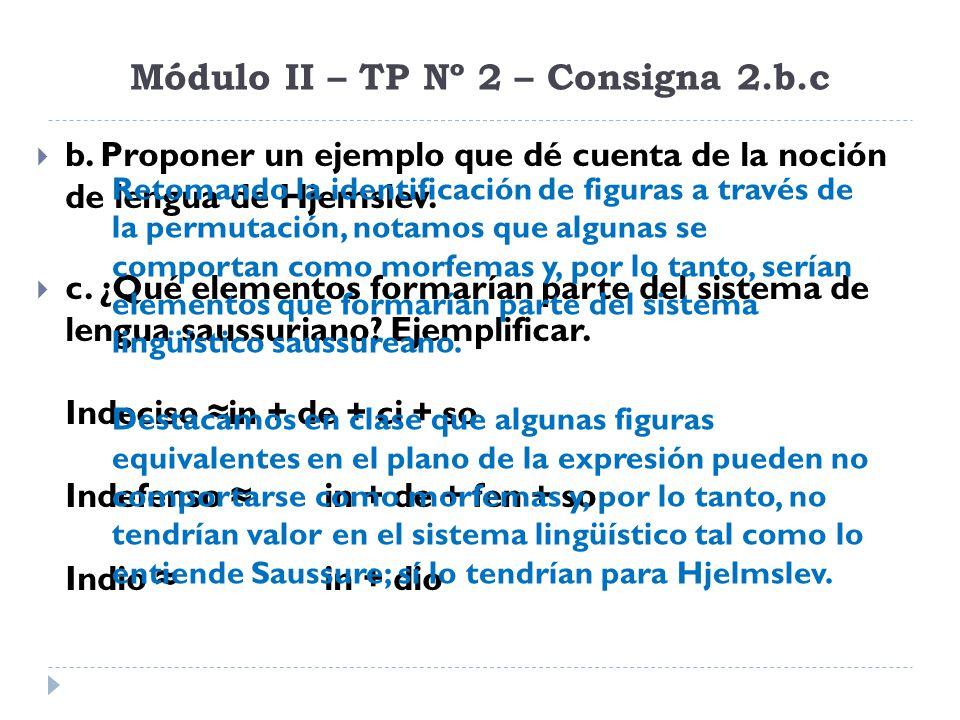 Módulo II – TP Nº 2 – Consigna 2.b.c