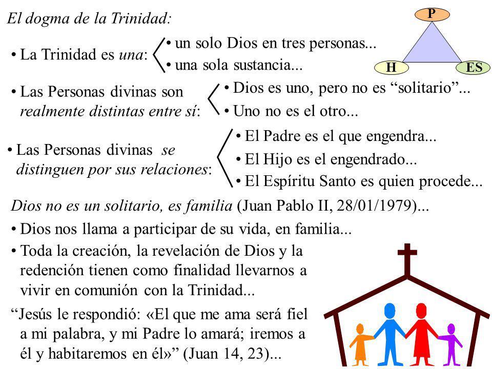 El dogma de la Trinidad: