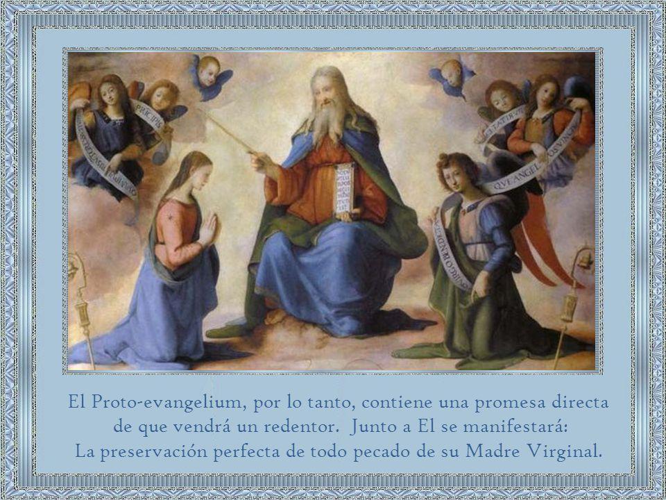 El Proto-evangelium, por lo tanto, contiene una promesa directa