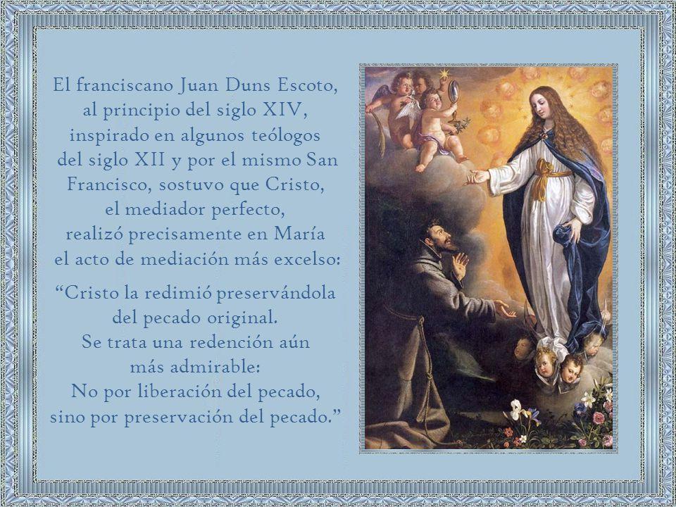 El franciscano Juan Duns Escoto,