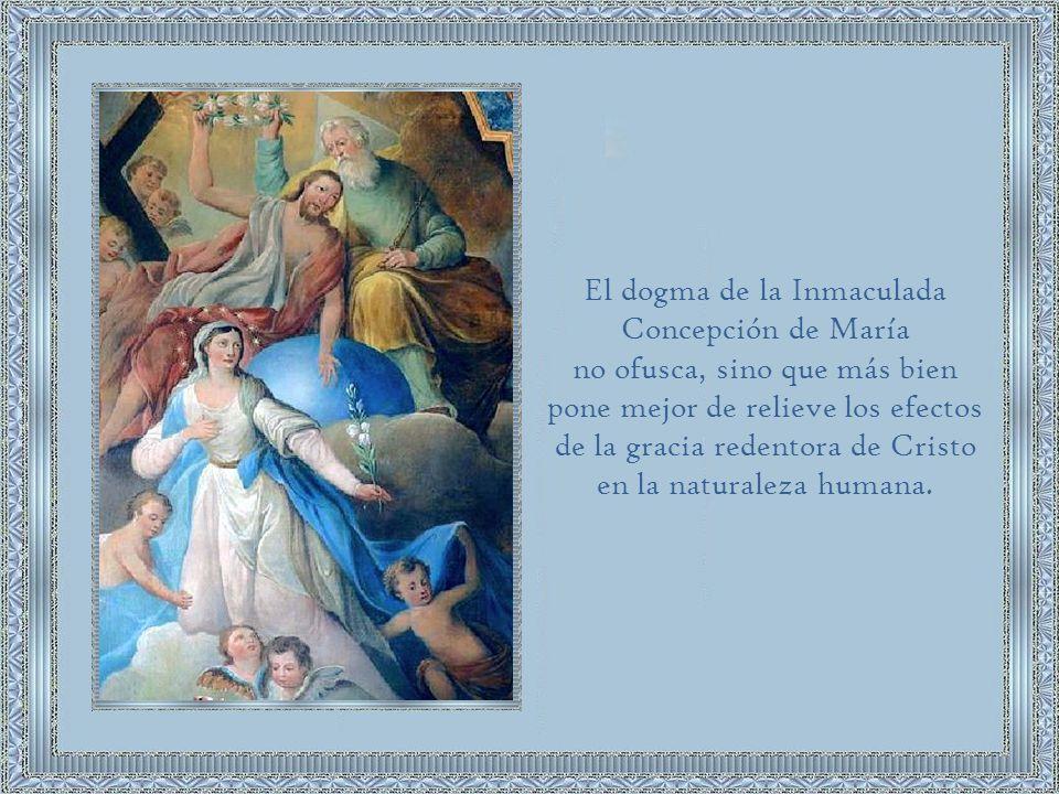 El dogma de la Inmaculada Concepción de María