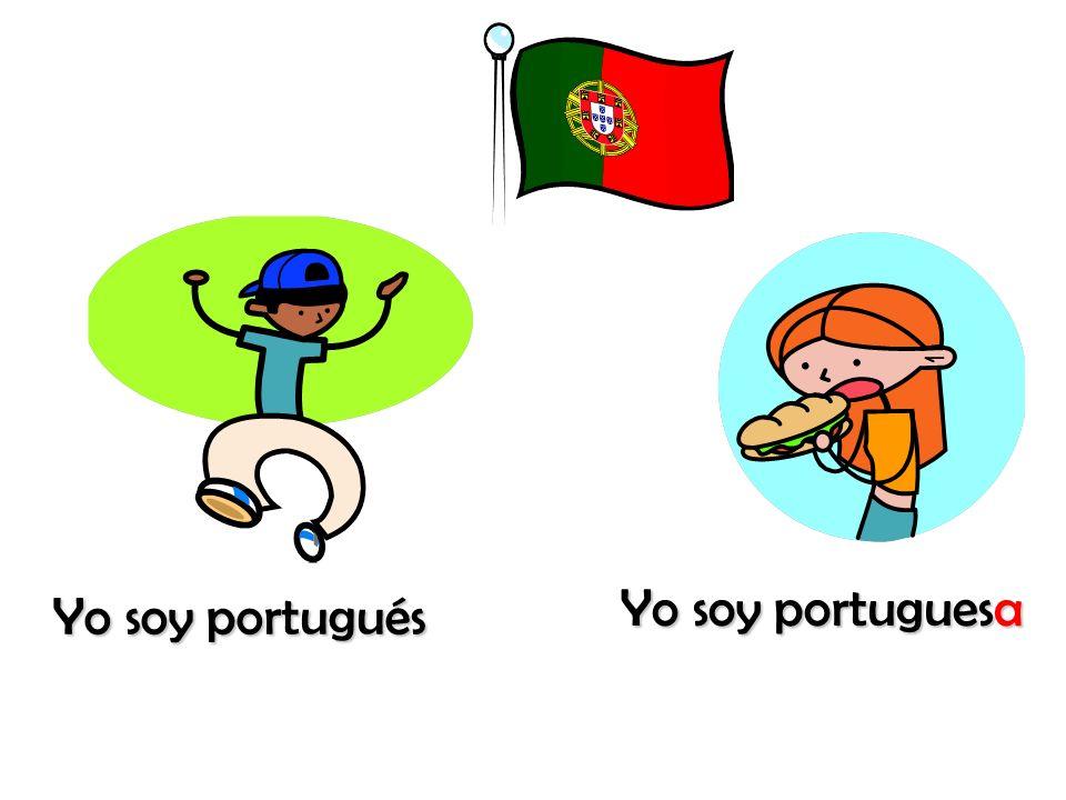 Yo soy portuguesa Yo soy portugués