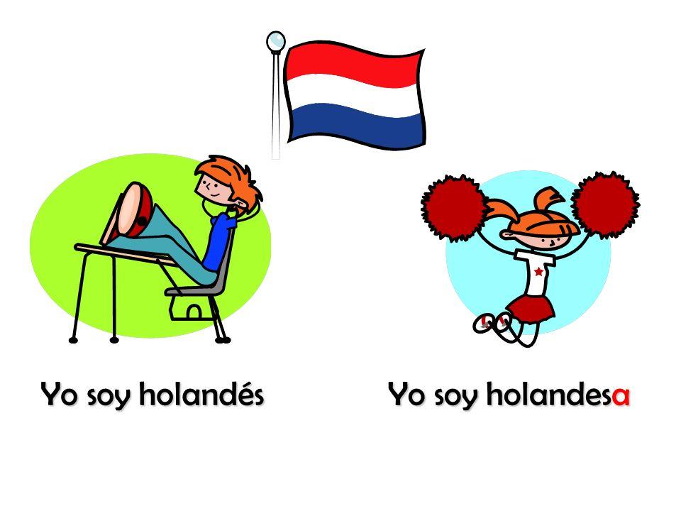 Yo soy holandés Yo soy holandesa
