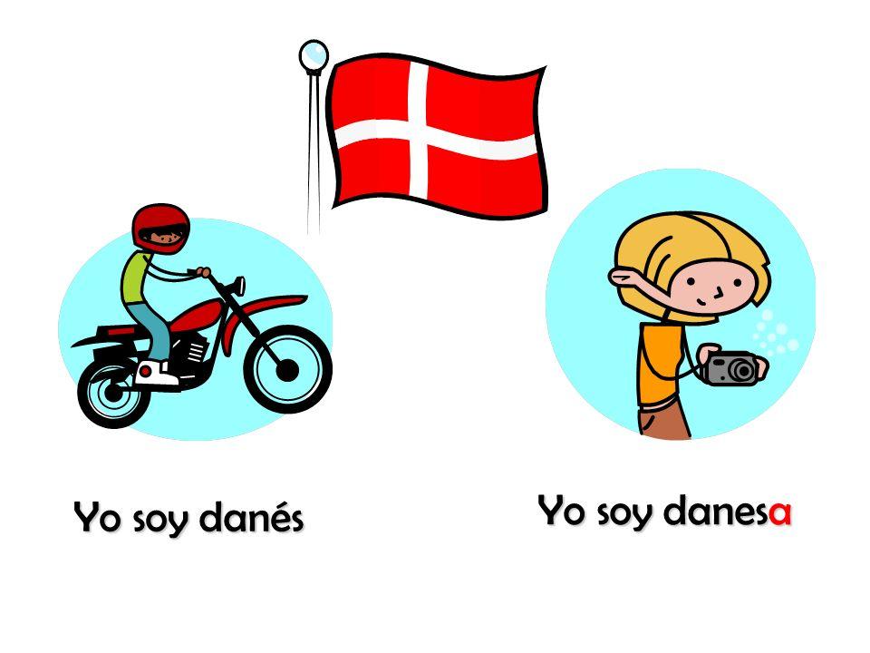Yo soy danesa Yo soy danés