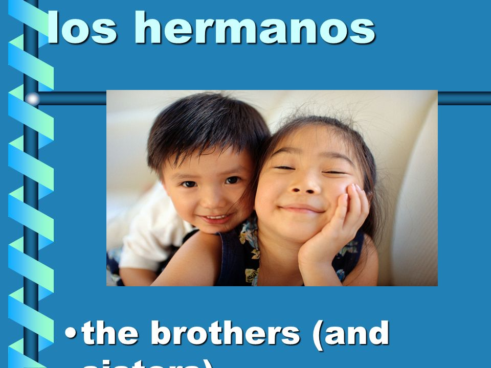 los hermanos the brothers (and sisters)