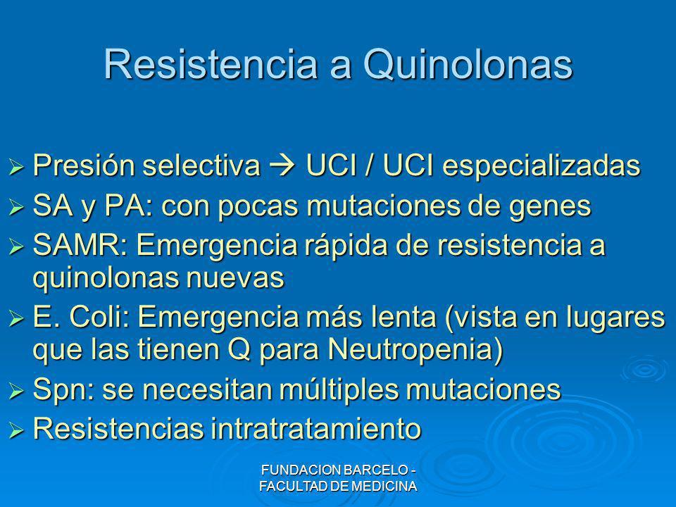 Resistencia a Quinolonas