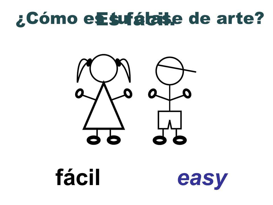 ¿Cómo es tu clase de arte