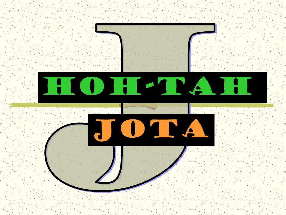 J HOH-TAH jota