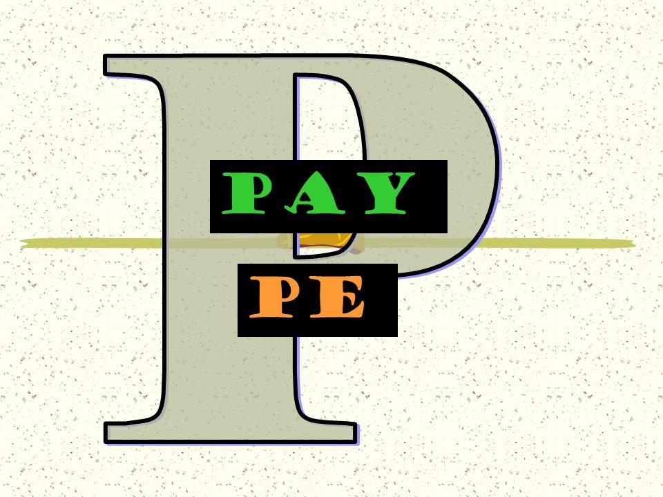 P PAY pe