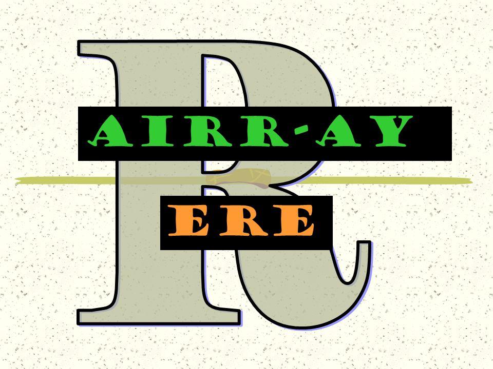 R AIRr-AY ere