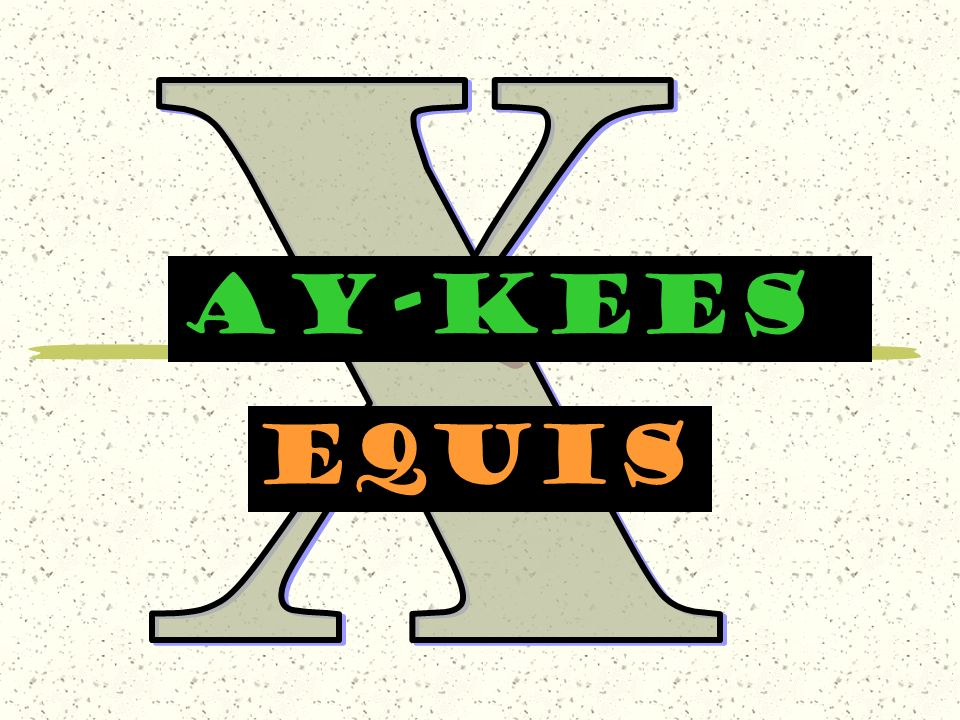 X AY-KEES equis
