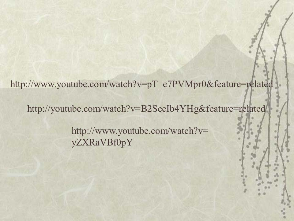 http://www.youtube.com/watch v=pT_e7PVMpr0&feature=related http://youtube.com/watch v=B2SeeIb4YHg&feature=related.