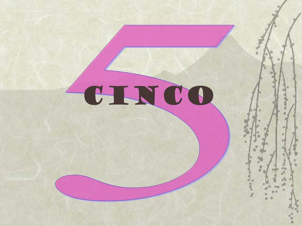 5 cinco