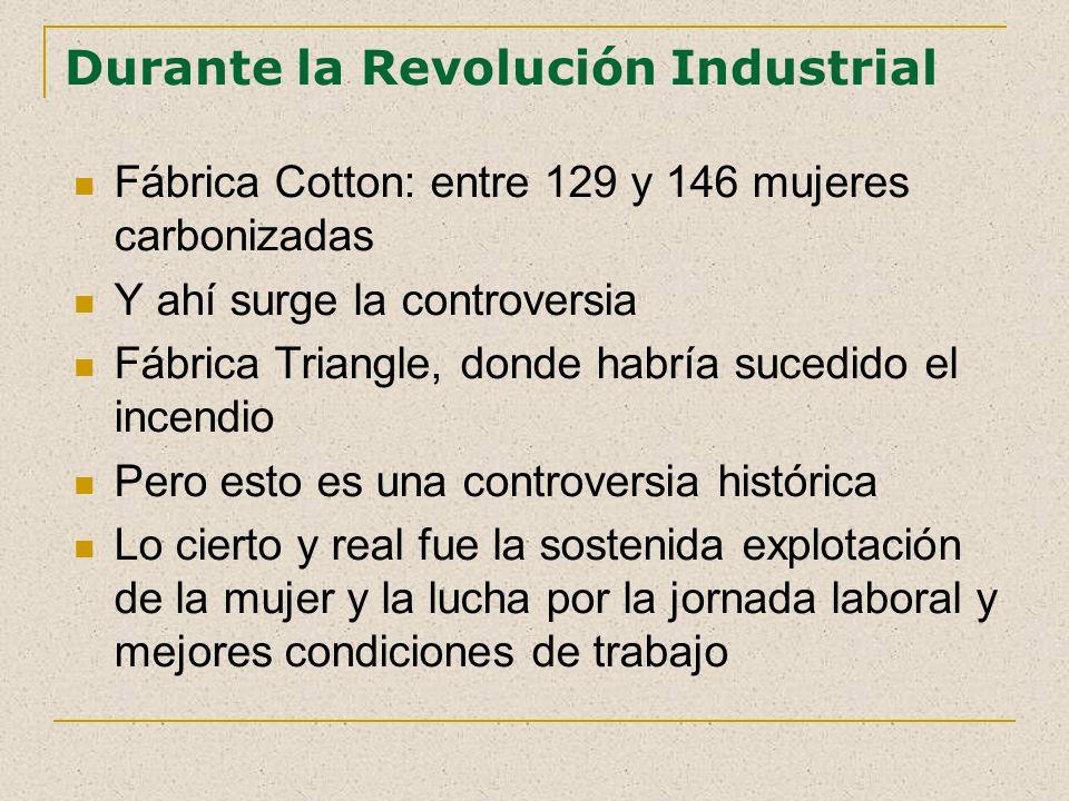Durante la Revolución Industrial