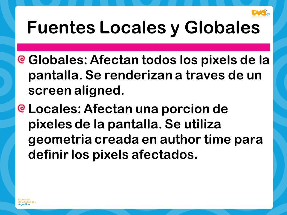 Fuentes Locales y Globales
