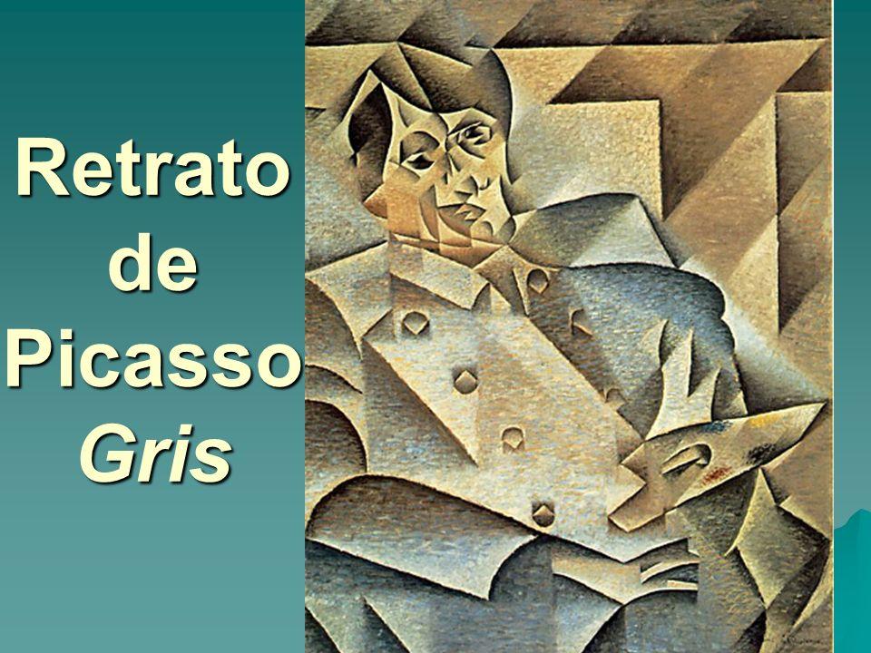 Retrato de Picasso Gris