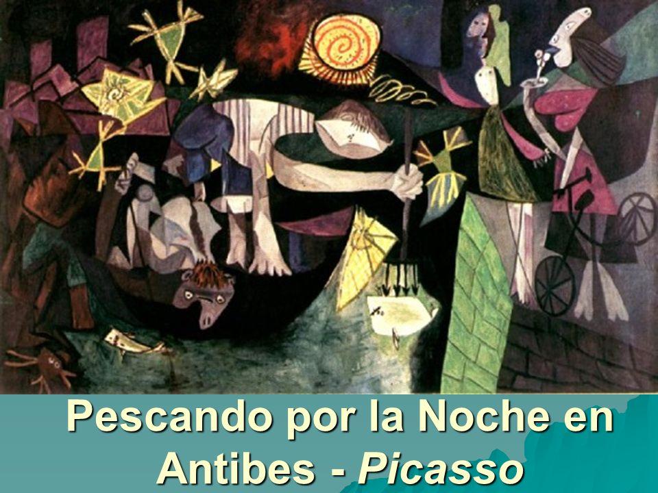 Pescando por la Noche en Antibes - Picasso
