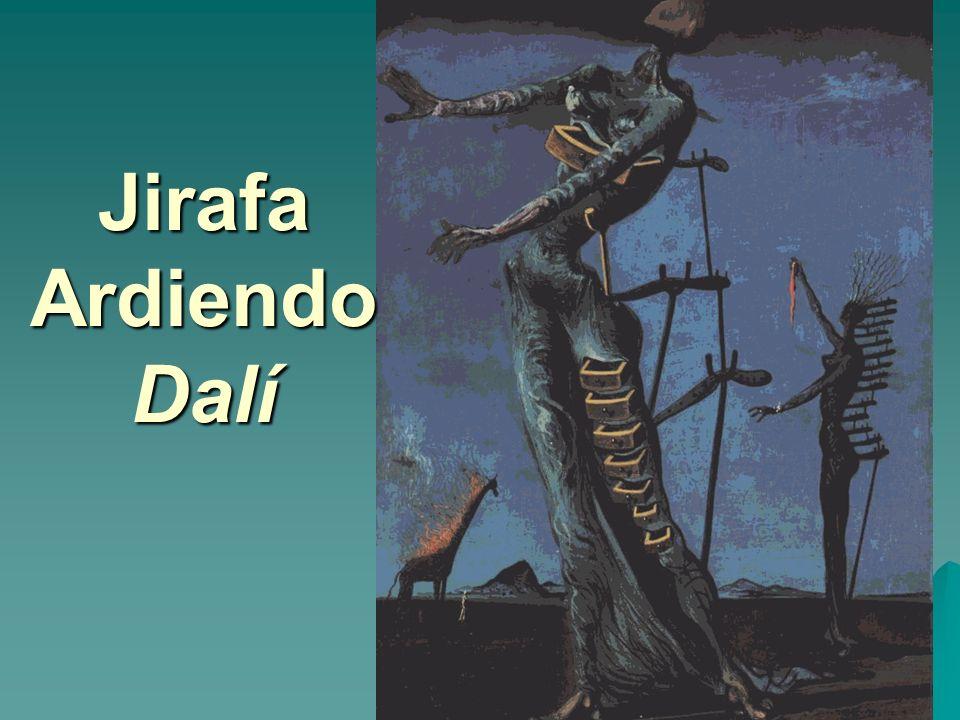 Jirafa Ardiendo Dalí