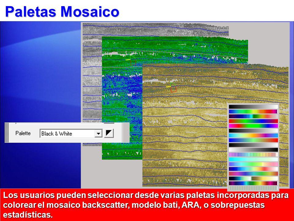 Paletas Mosaico