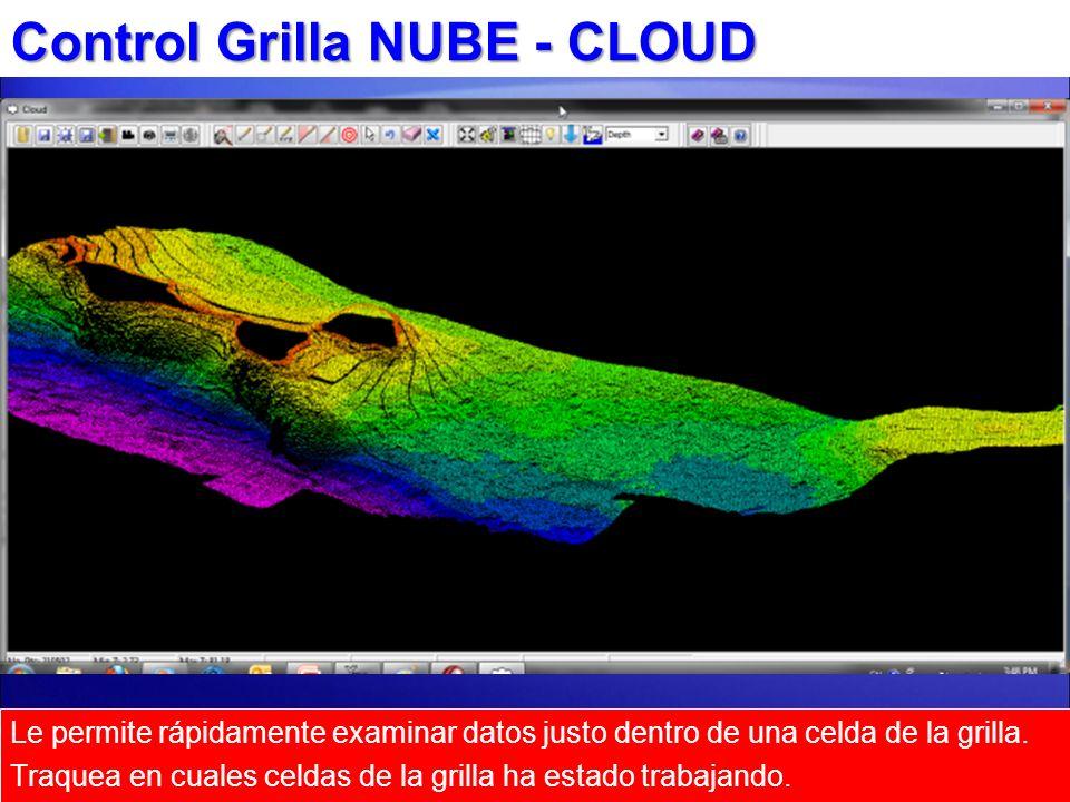 Control Grilla NUBE - CLOUD