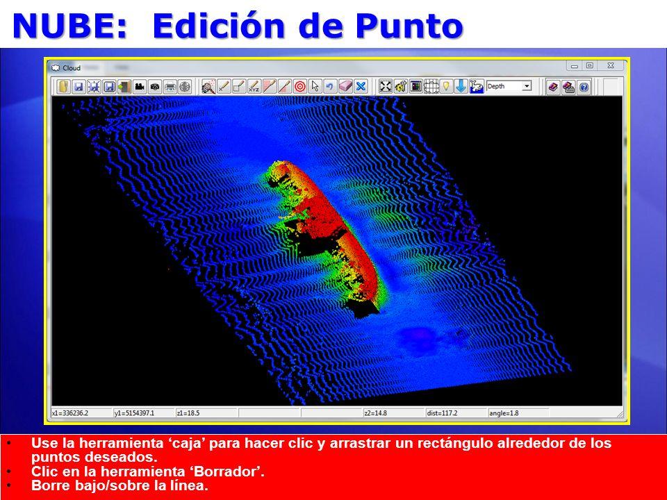 NUBE: Edición de PuntoActualice en include nuevo punto edición borrado bajo/sobre.