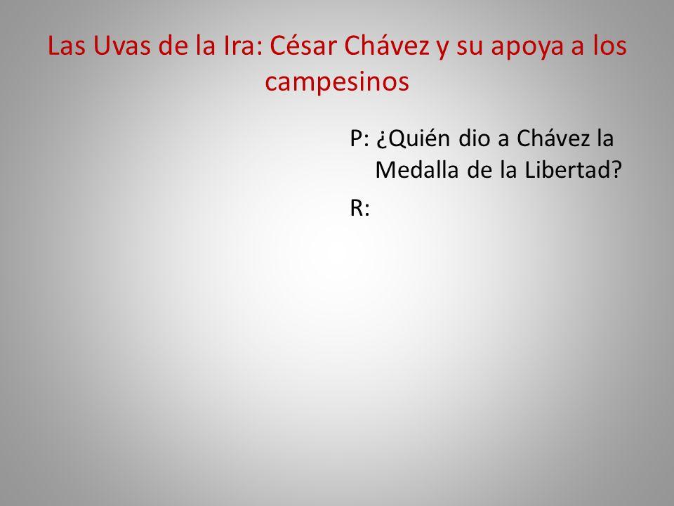 Las Uvas de la Ira: César Chávez y su apoya a los campesinos