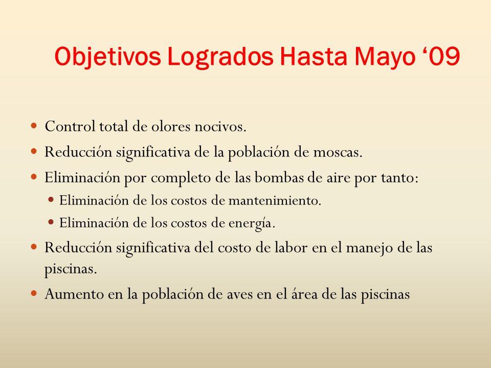 Objetivos Logrados Hasta Mayo '09