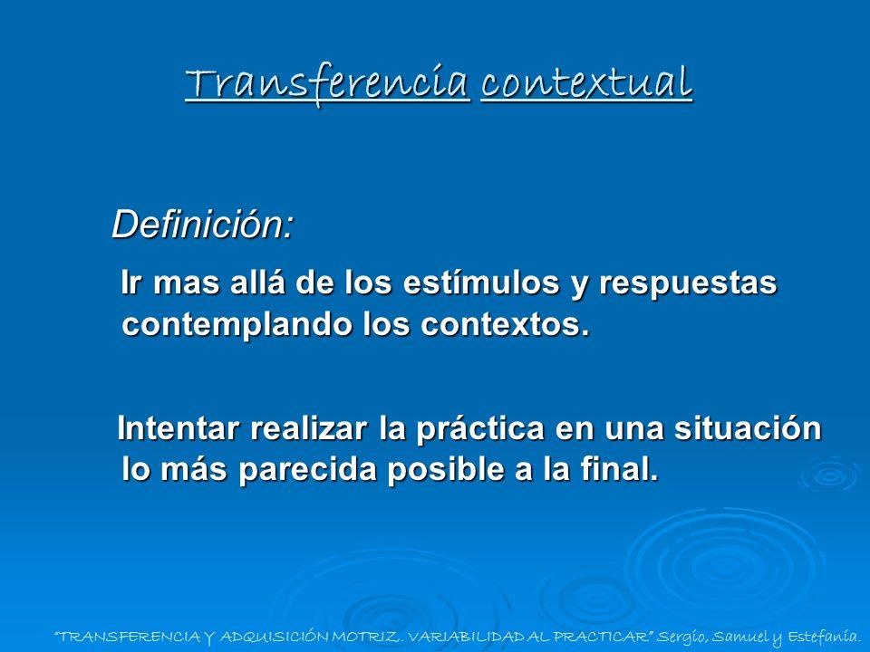 Transferencia contextual