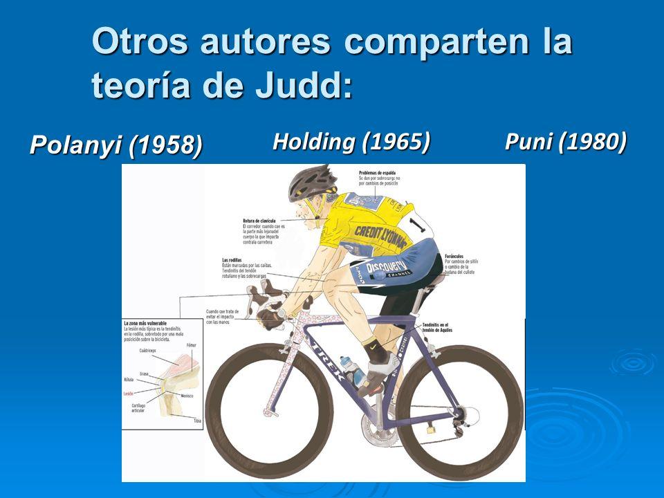 Otros autores comparten la teoría de Judd: