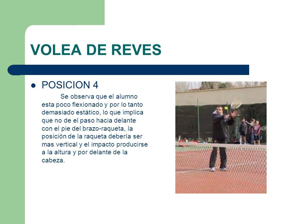 VOLEA DE REVES POSICION 4