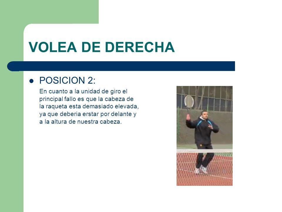 VOLEA DE DERECHA POSICION 2: