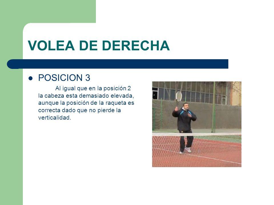 VOLEA DE DERECHA POSICION 3