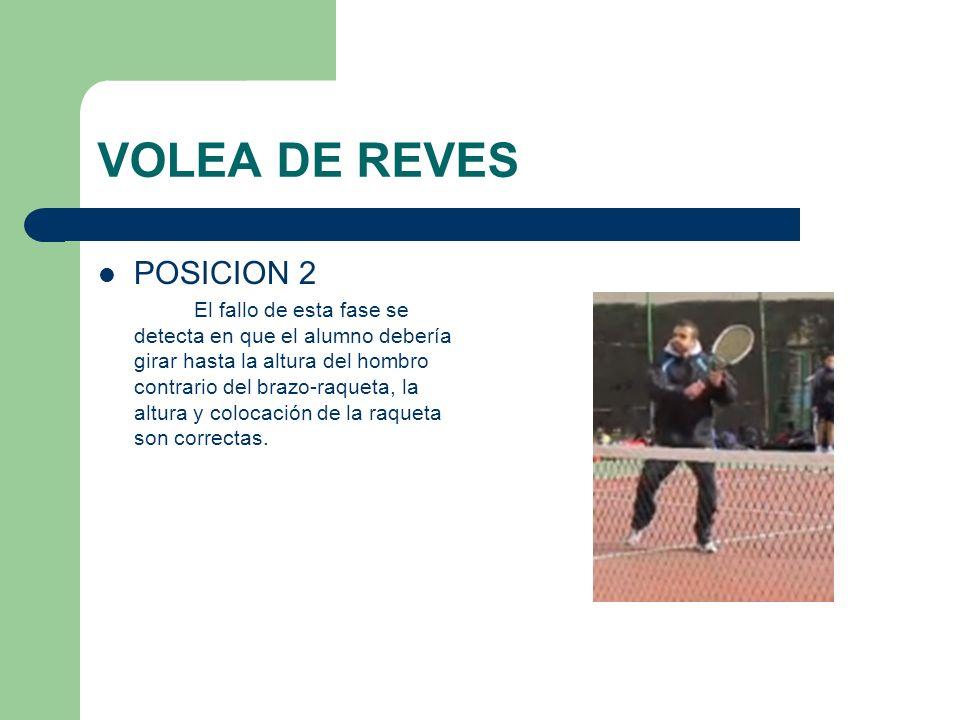 VOLEA DE REVES POSICION 2