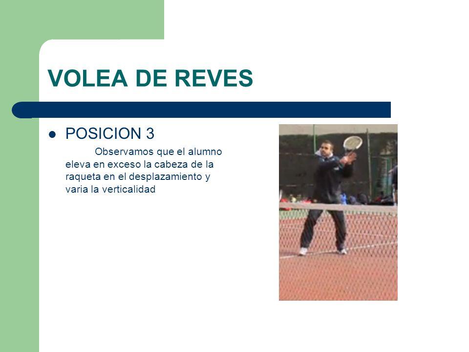 VOLEA DE REVES POSICION 3