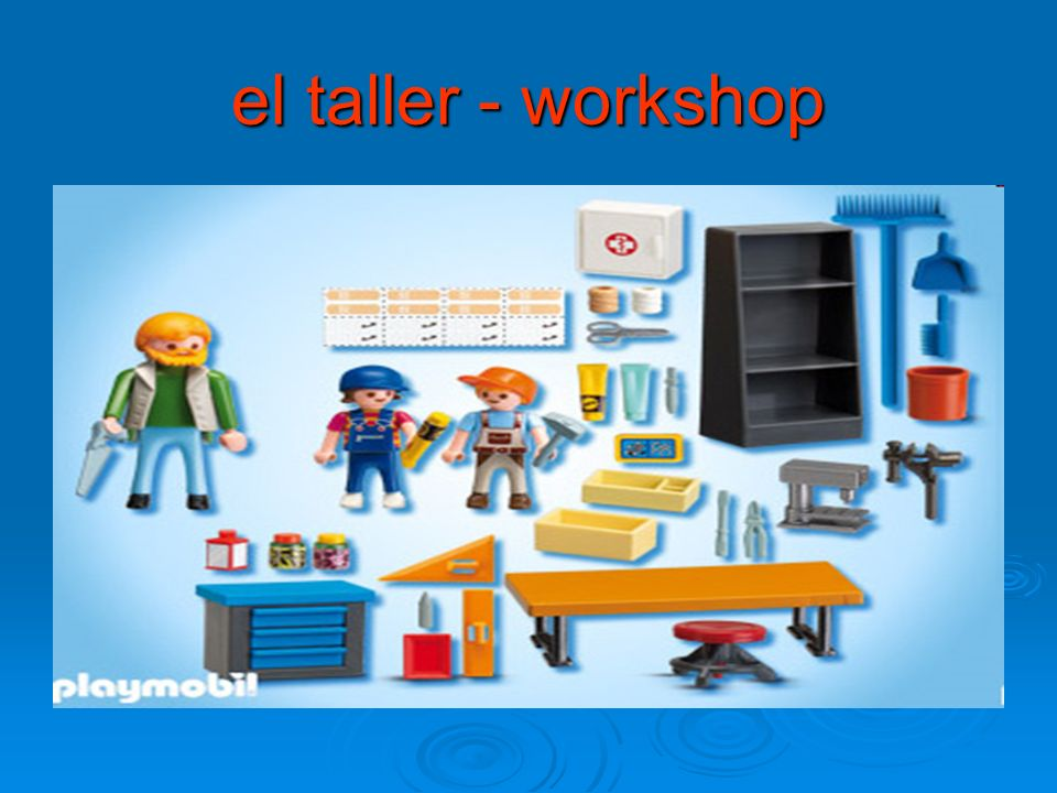 el taller - workshop